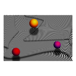 Abstract - Lines - That's a moire Poster