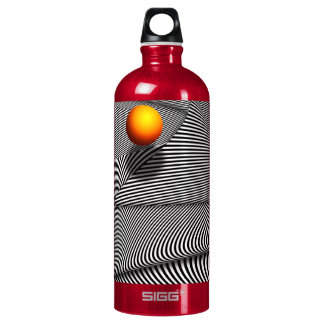 Abstract - Lines - That's a moire Water Bottle