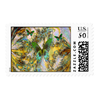 Abstract Linger Postage