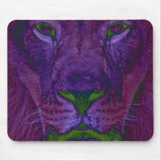 Abstract Lion Mousepad