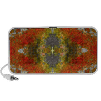 Abstract Lips Pattern Travelling Speakers