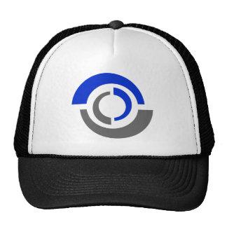 Abstract Logo Design Baseball Cap Trucker Hat