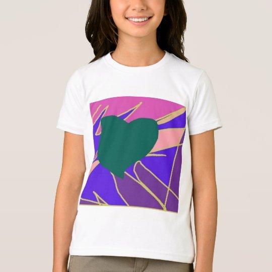 Abstract Love Heart T-Shirt