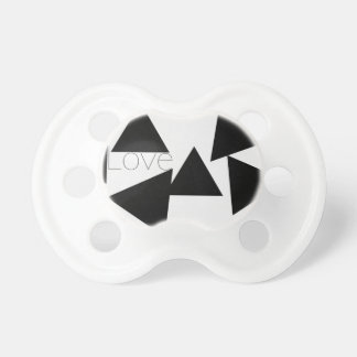 Abstract love BooginHead pacifier