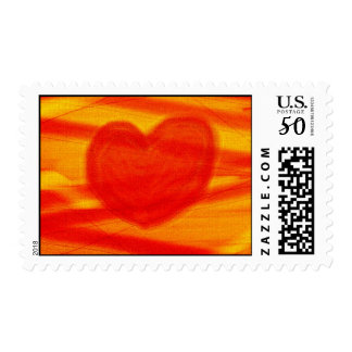 ABSTRACT LOVE POSTAGE