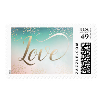 Abstract Love Stamps