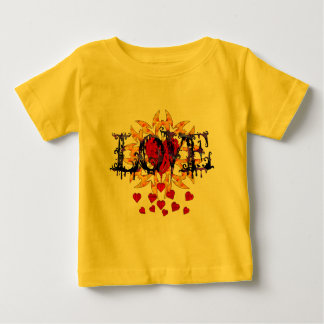 Abstract Love Valentine Baby T-Shirt
