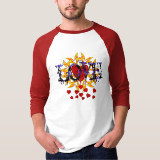 Abstract Love Valentine T-Shirt
