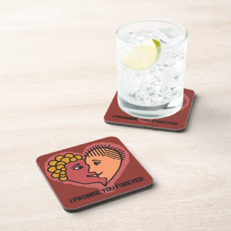 Abstract Lovers coasters