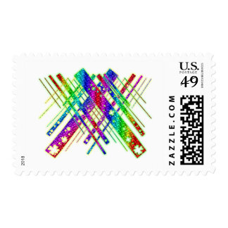 Abstract Luck Postage