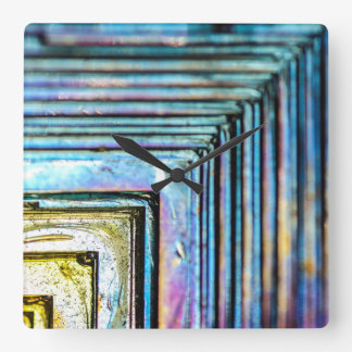 Abstract Macro Bismuth Mineral Clock
