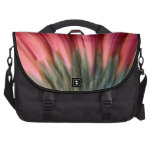 Abstract Macro Red and Pink Gerbera Flower Computer Bag