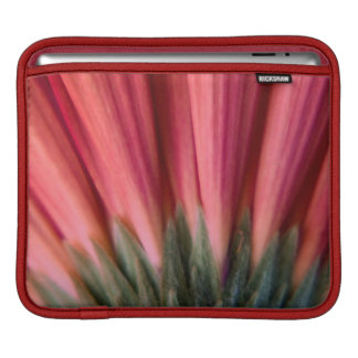 Abstract Macro Red and Pink Gerbera Flower Sleeve For iPads