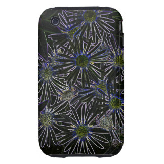 Abstract Magic Flower Tough iPhone 3 Cover