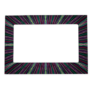 Abstract Magnetic Photo Frame