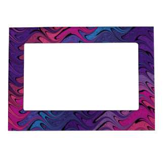 Abstract Magnetic Photograph Frame
