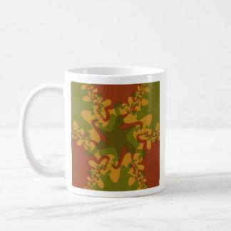 Abstract mandala coffee mug