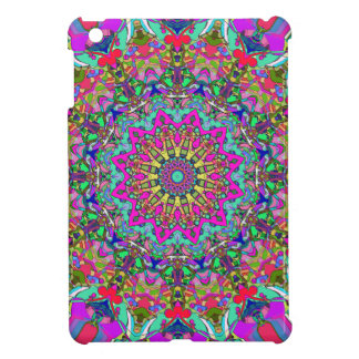 Abstract Mandala Flower iPad Mini Cases