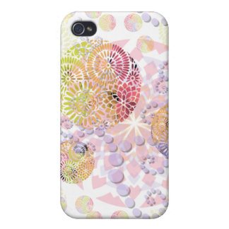 Abstract Mandala Speck Case