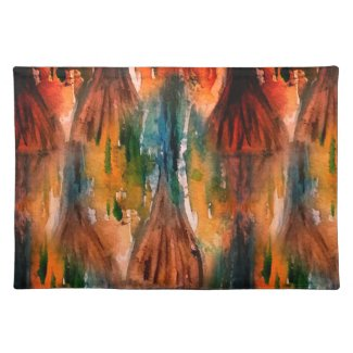 Abstract Mangrove on Placemats