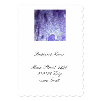 abstract maps blue card