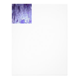 abstract maps blue customized letterhead