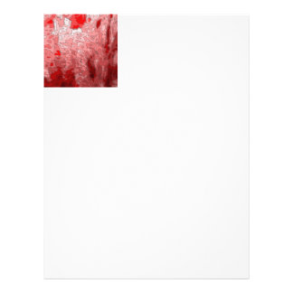 abstract maps,deep red letterhead