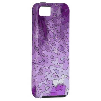 abstract maps purple iPhone 5 case