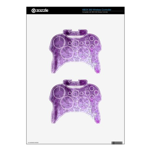 abstract maps purple xbox 360 controller skins