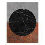 Abstract - Marble, Concrete, Rusted Iron Letterhead