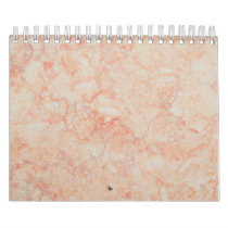 Abstract Marble Texture in Pastel Color Calendar