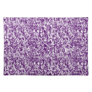 Abstract Marbleized Swirl Cloth Place Mat
