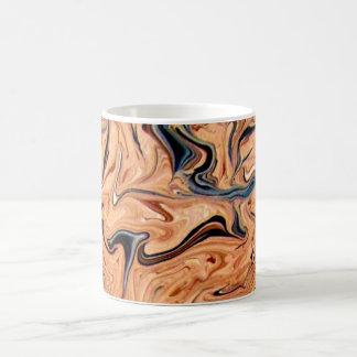 Abstract, Marbling Pattern,Coffee Mug