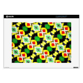 Abstract Markers Laptop Decals