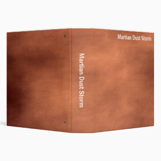 Abstract - Martian Dust Storm (1.5in) 3 Ring Binder