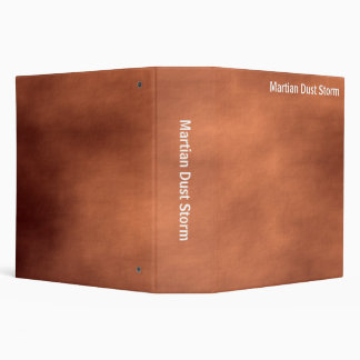Abstract - Martian Dust Storm (2.0in) 3 Ring Binder