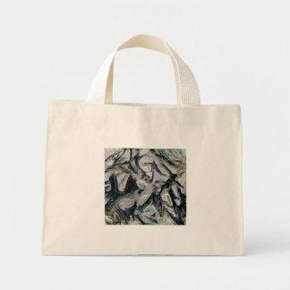Abstract mason like background, customize it! canvas bag