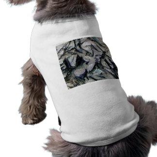 Abstract mason like background, customize it! dog tee