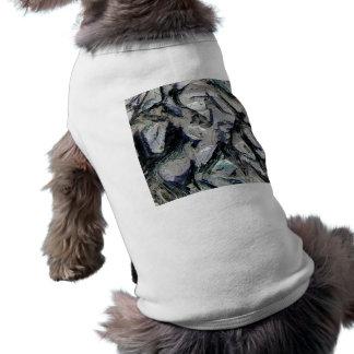 Abstract mason like background, customize it! pet t-shirt