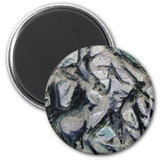 Abstract mason like background, customize it! refrigerator magnet
