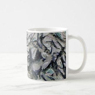 Abstract mason like background, customize it! coffee mug