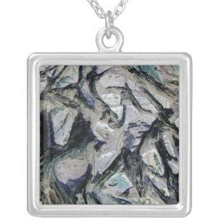 Abstract mason like background, customize it! pendants