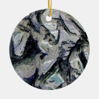 Abstract mason like background, customize it! christmas ornaments