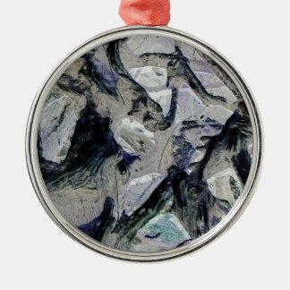 Abstract mason like background, customize it! christmas tree ornaments