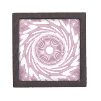Abstract Mauve Whirl Keepsake Box
