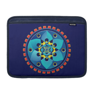 Abstract mechanical object MacBook air sleeve