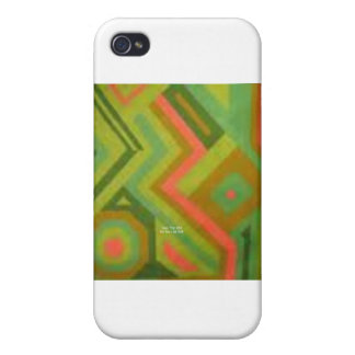 Abstract Mellon (Geo Trip) iPhone 4/4S Cases