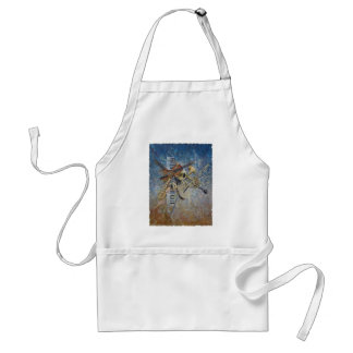 Abstract Melody Adult Apron