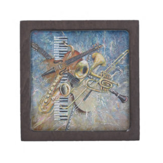 Abstract Melody gift box Premium Jewelry Box