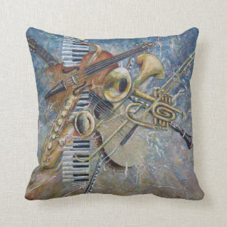 Abstract Melody pillow